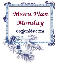 Snowy Menu Plan Monday