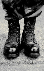 Black Army Combat Boots