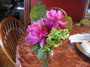 Peony Bouquet Homegrown