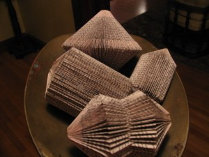 different types of folded books