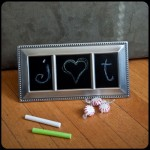 DIY Chalkboard Frame (Make it for Christmas)