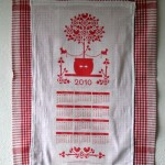 DIY Printable Tea Towel Calendar (Make it for Christmas)