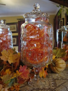 Fall Apothecary Jar
