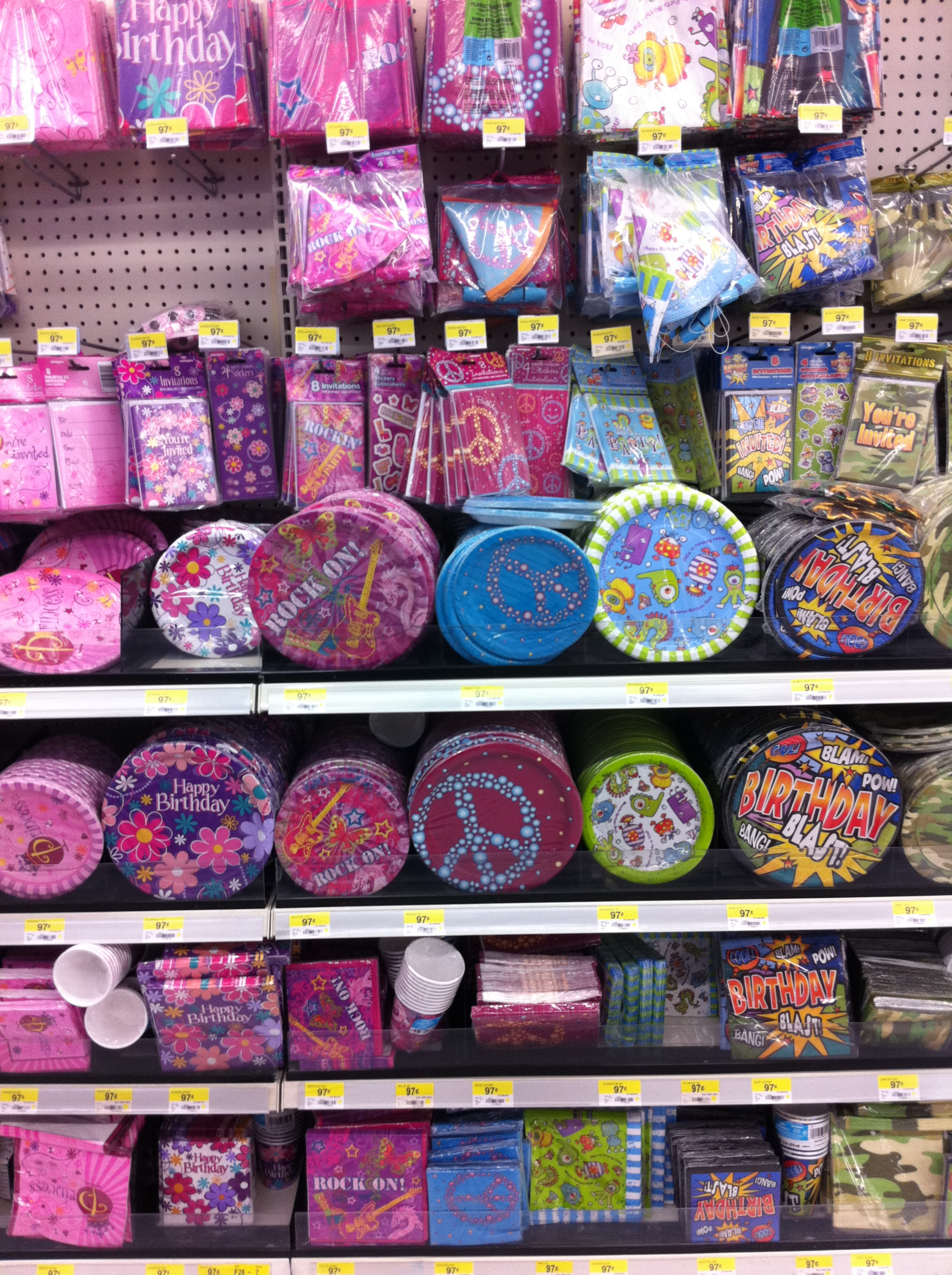 Walmarts Party Assortment