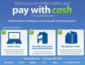Walmart Pay with Cash