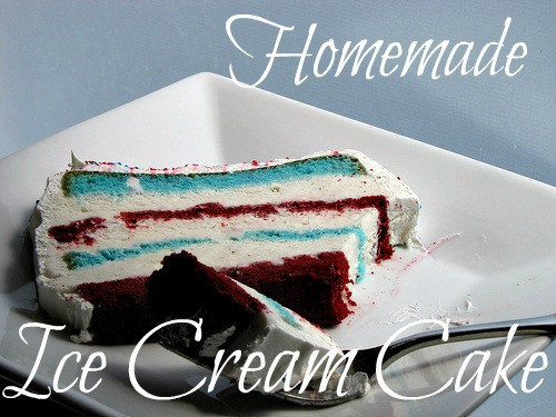 How To Make An Ice Cream Cake