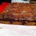 Recipe: Gingerbread Oreo Brownies with Orange and Rum Infused Whipped Cream