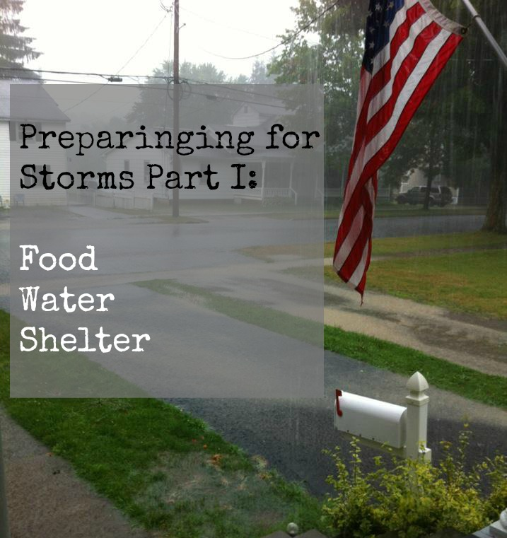 Storm Preparedness with Walmart  Part 1