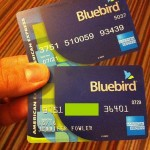 "Using the ""Bluebird"" American Express Card"