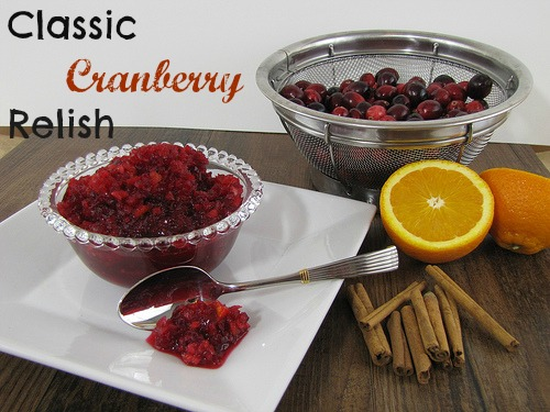 Classic Cranberry Relish