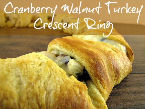Cranberry Walnut Turkey Crescent Ring