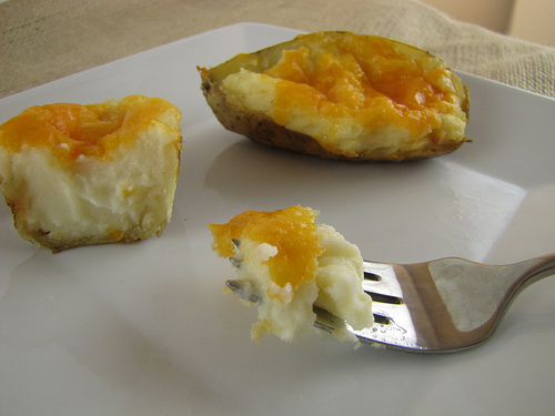Time Saver Twice Baked Potatoes