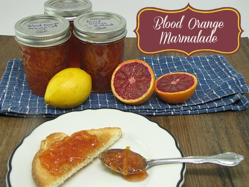 ... Celebrations (with Blood Orange Marmalade Recipe) - Frugal Upstate