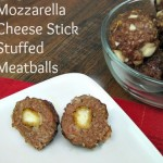 Recipe: Mozzarella Stick Stuffed Meatballs