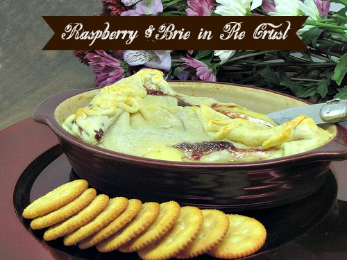 Raspberry & Brie in Pie Crust