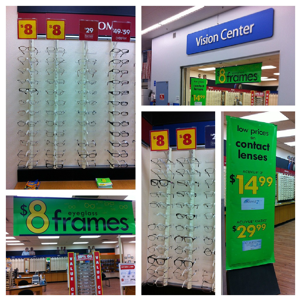 i made an appointment at the walmart vision center