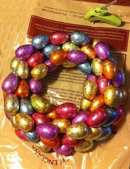 Easter Egg Wreath 1