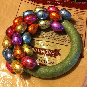Easter Egg Wreath 4