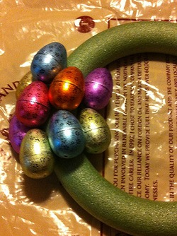 Easter Egg Wreath 5