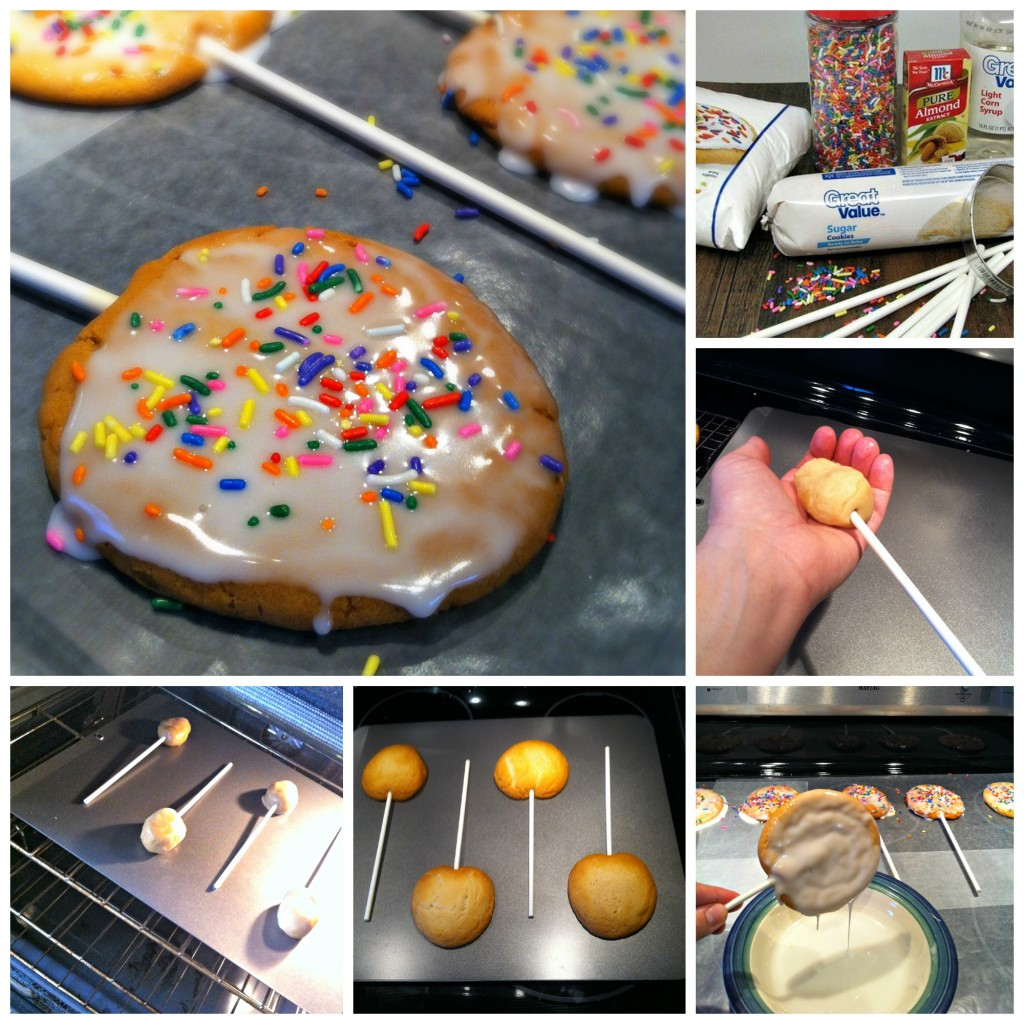 cookie pop Collage