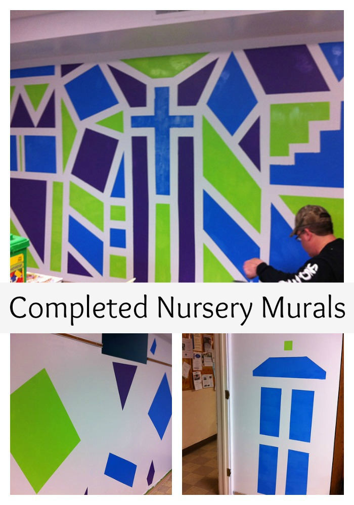 Completed Murals Collage