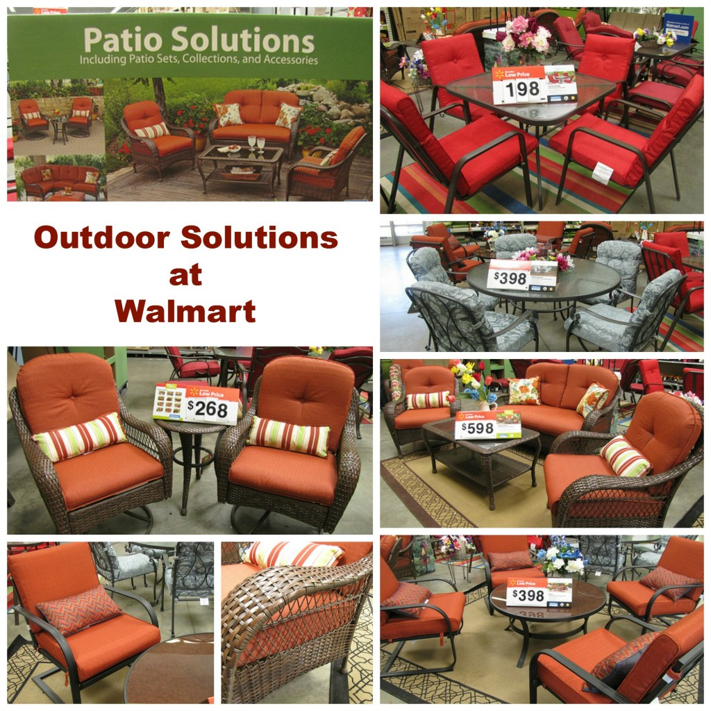 outdoor living at walmart frugal upstate - Walmart Patio