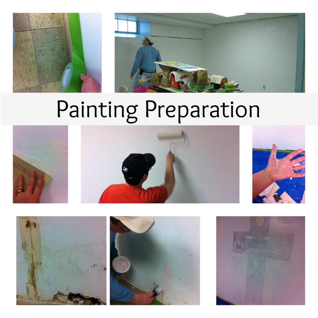 Painting Preparation Collage