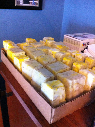 Soap Drying