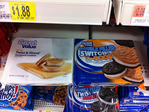 Great Value Sandwich Cookies