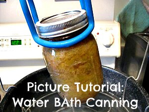 Hot Water Bath Canning