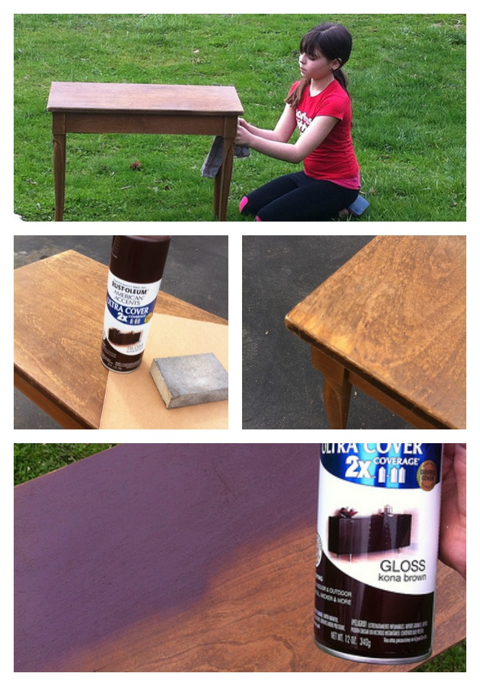 Piano Bench Collage
