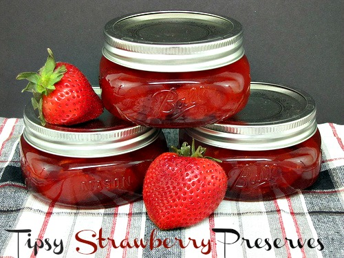 Tipsy Strawbery Preserves Recipe