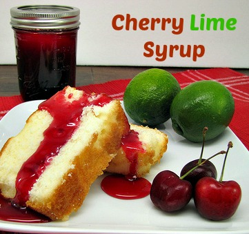 Delicious Cherry Lime Syrup Recipe