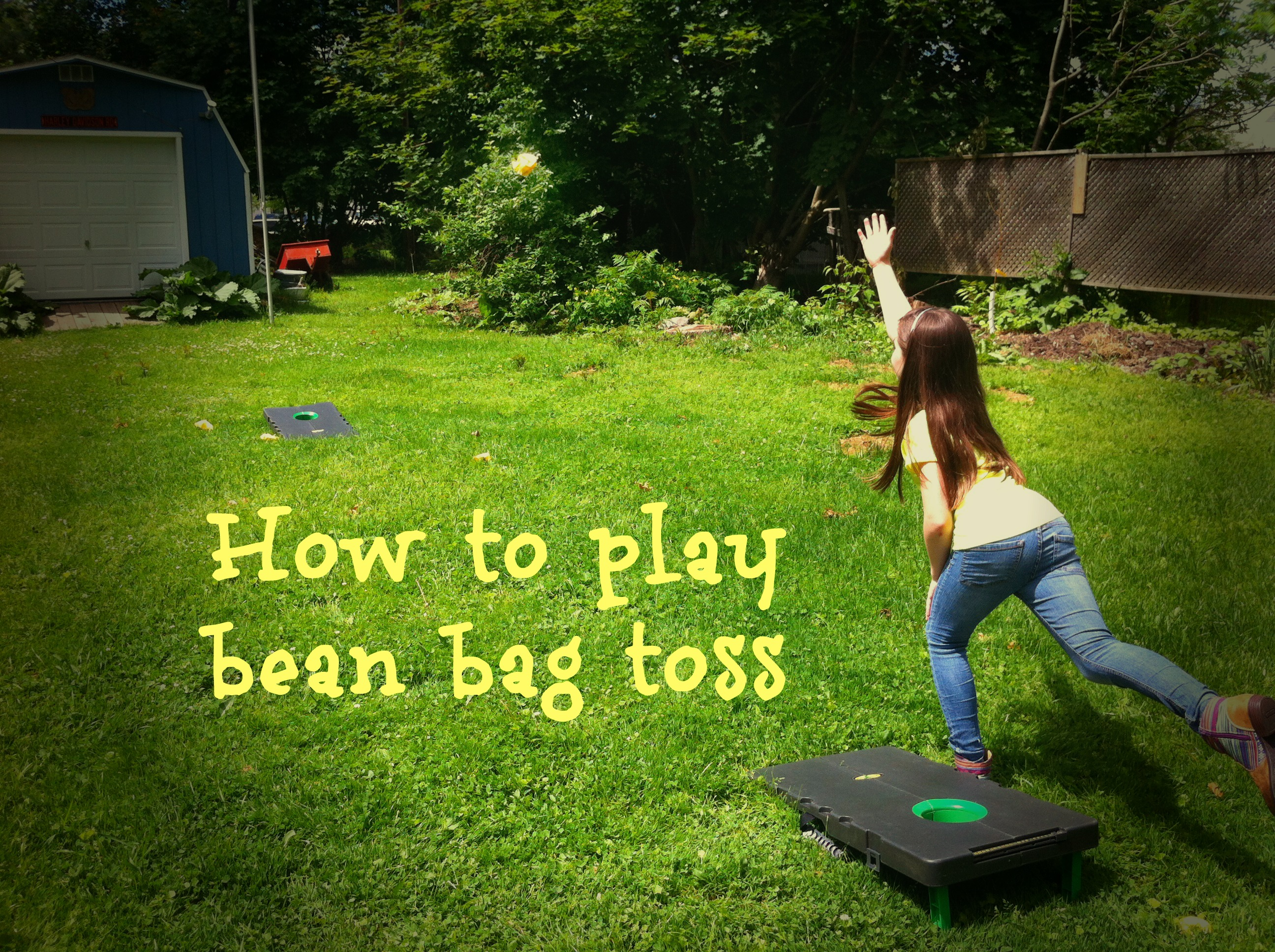 How to play Bean Bag Toss