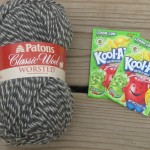 Tutorial:  How to Kool Aid Dye Yarn  (sponsored)