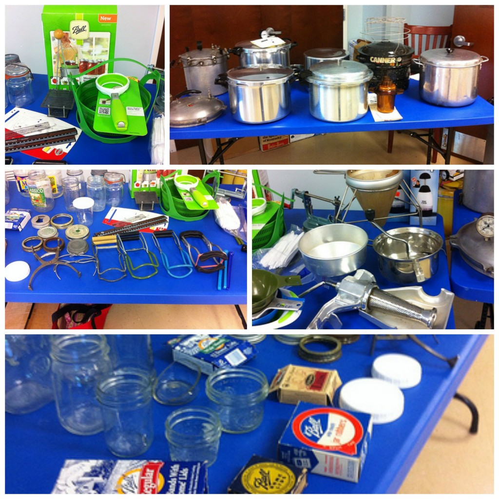 Master Food Preserver Canning Equipment  Collage