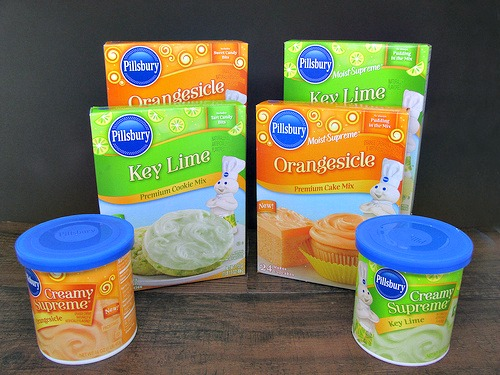 Pillsbury Orange Lime baking