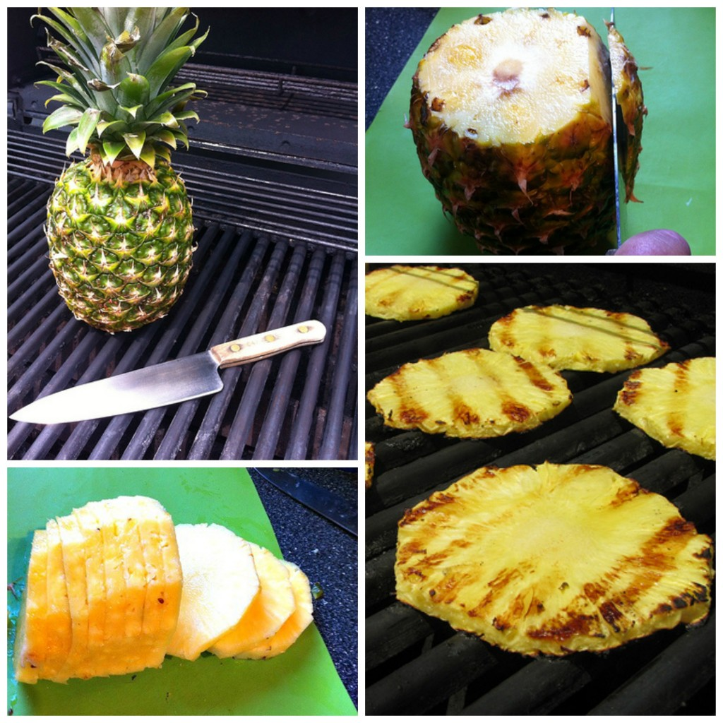 How to Grill Pineapple 2