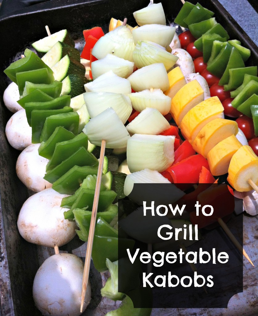 How to Grill Vegetable Kabobs