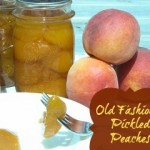 Pickled Peach Recipe