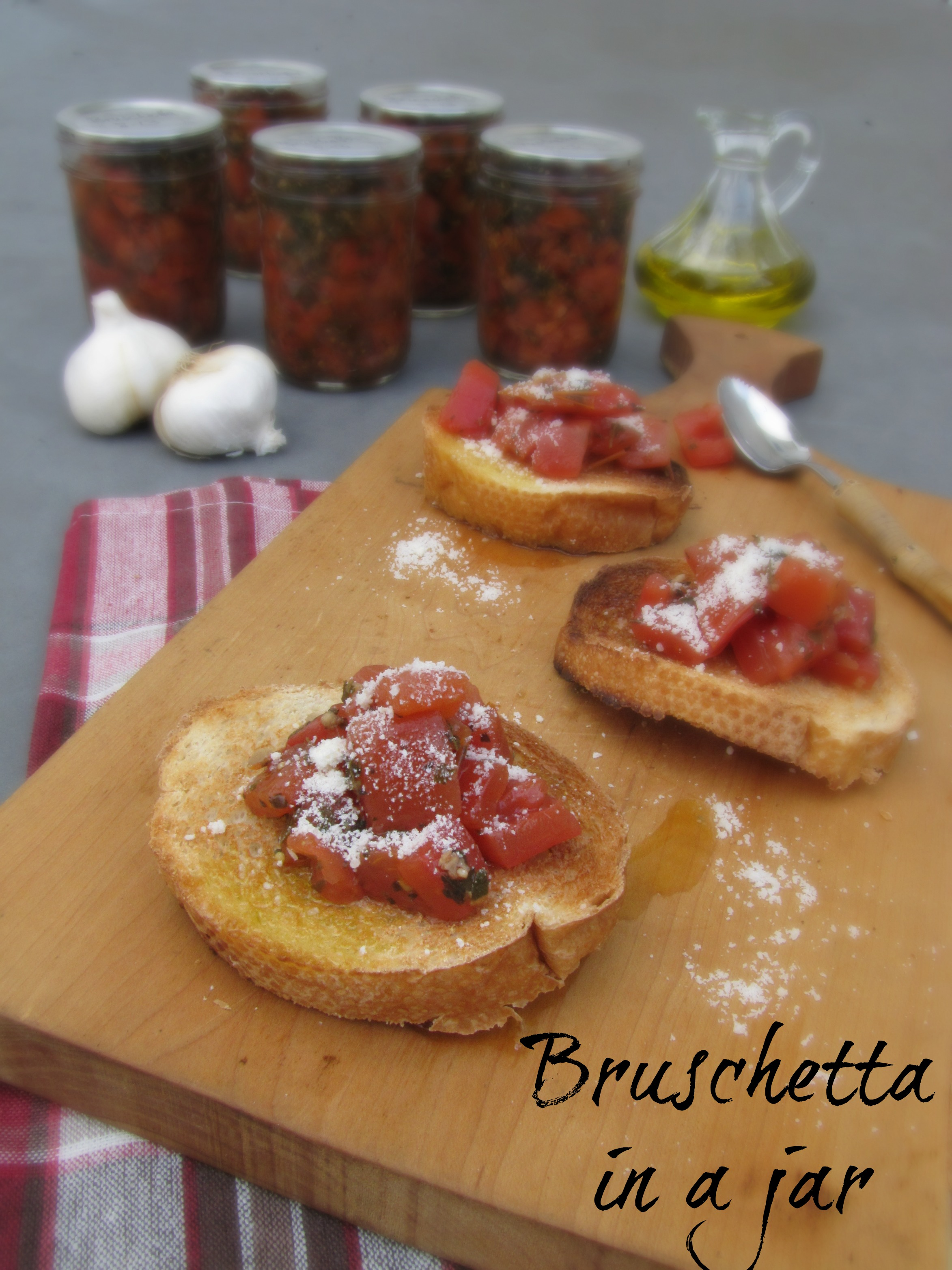 Bruchetta in a Jar