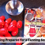 Getting Prepared for a Canning Session