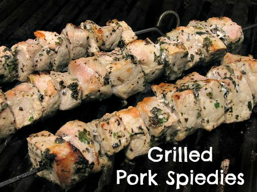 Grilled Pork Speidies Recipe