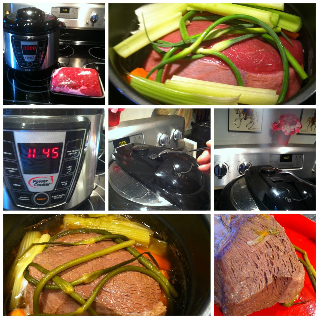 Power Cooker Beef Collage