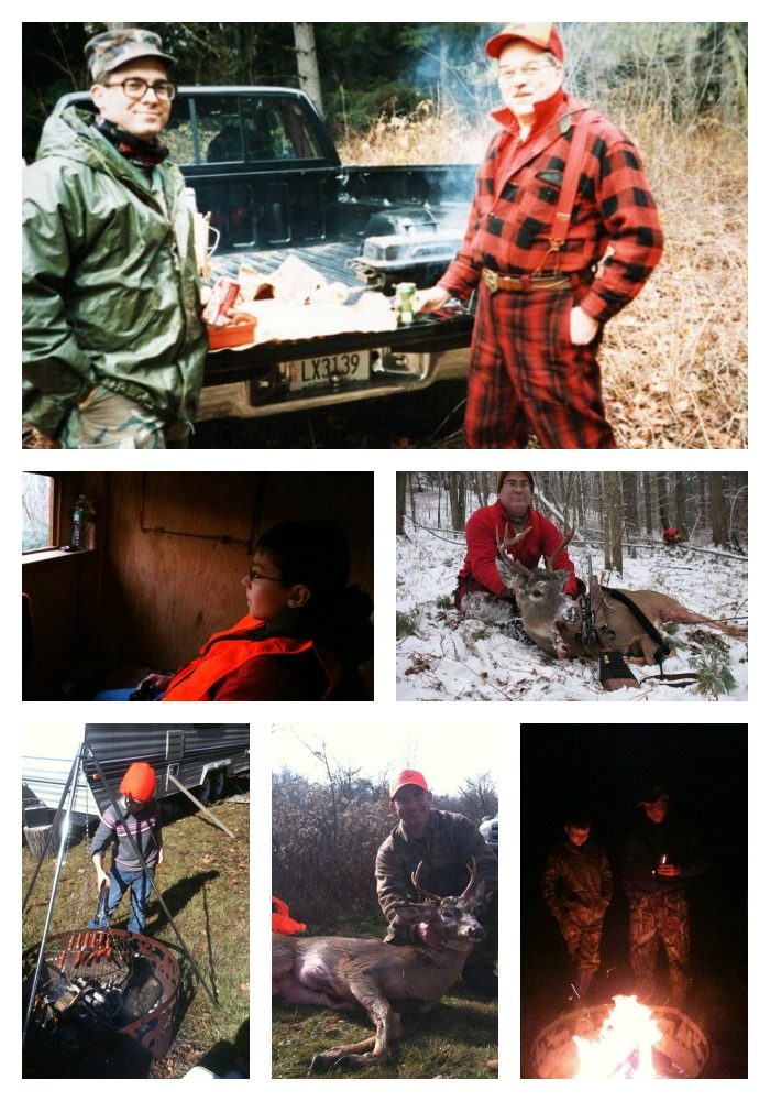 Deer Hunting Collage