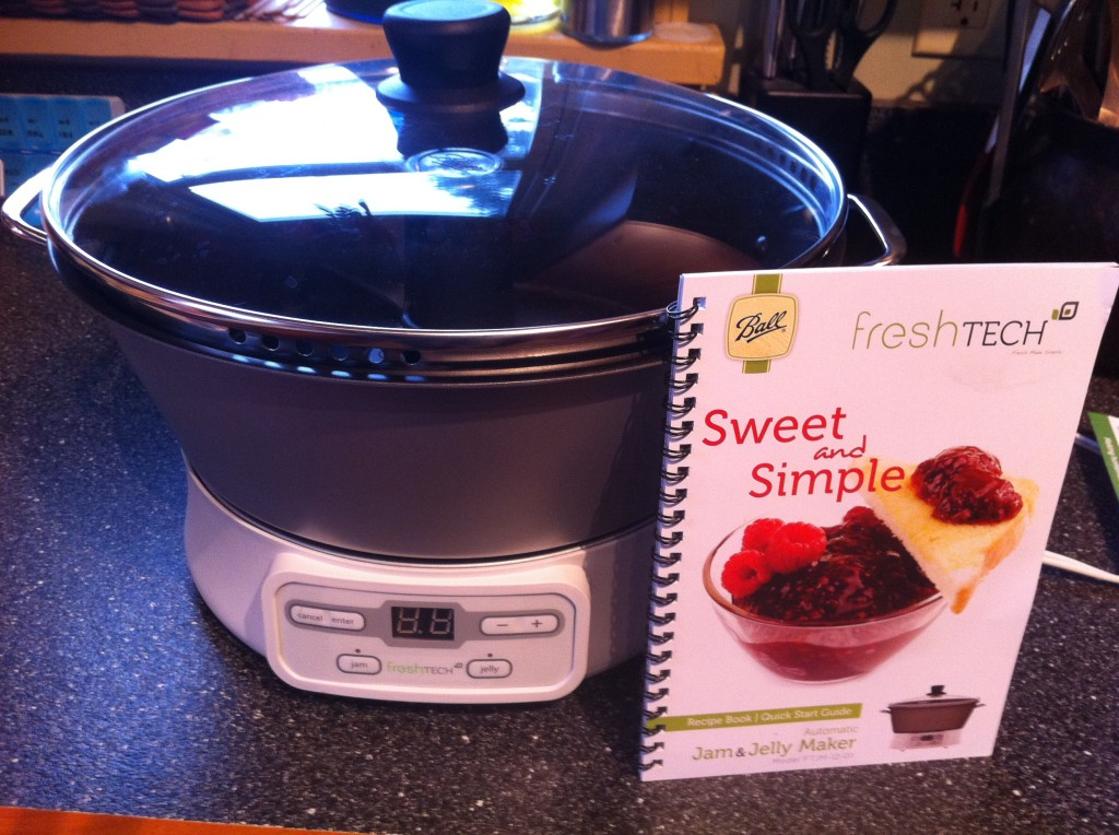 Freshtech making blackberry jam 1