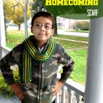 Super Simple Homecoming Scarf (Knitting Pattern)