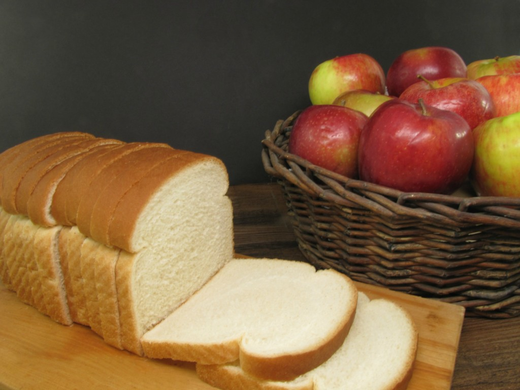 apples and bread