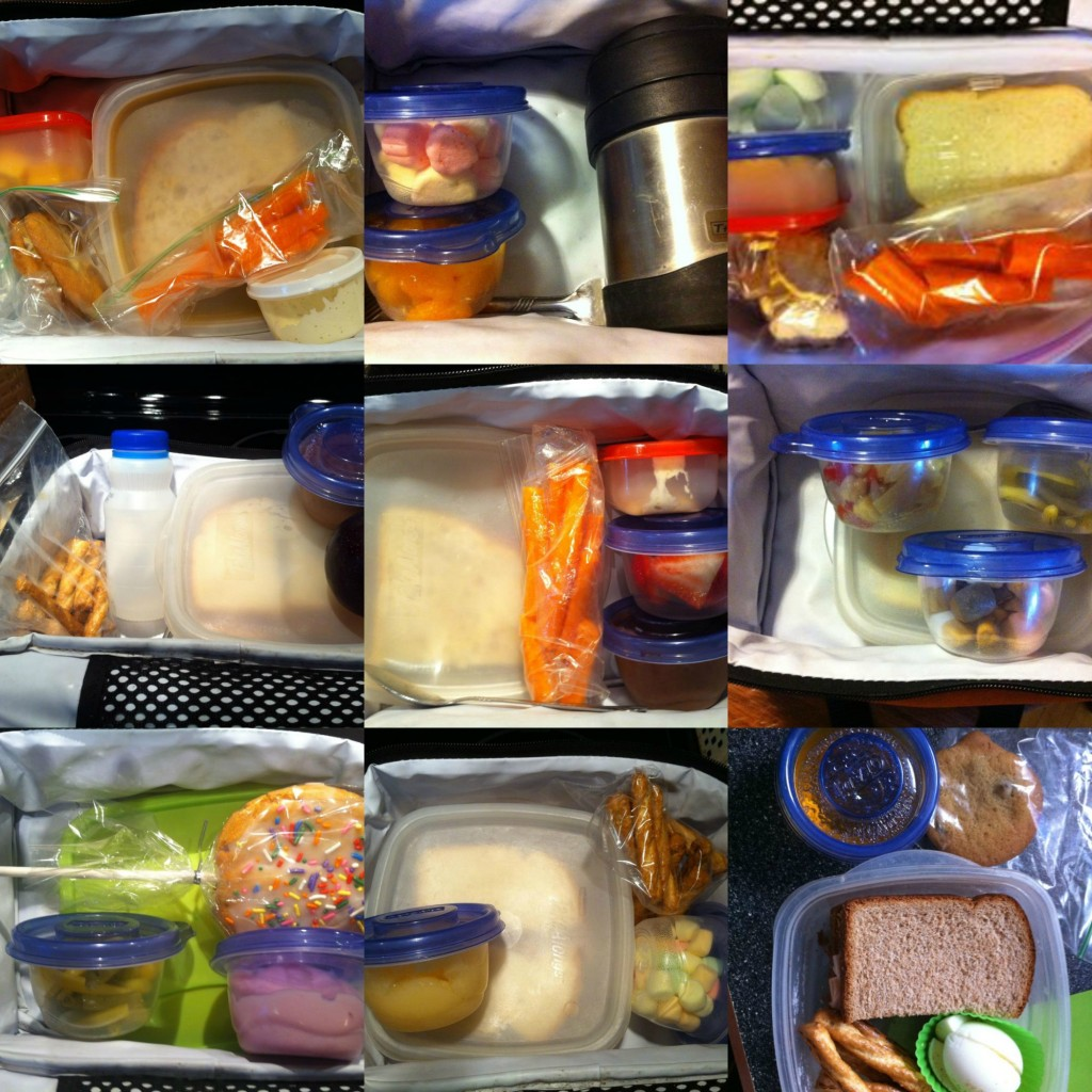 lunches Collage