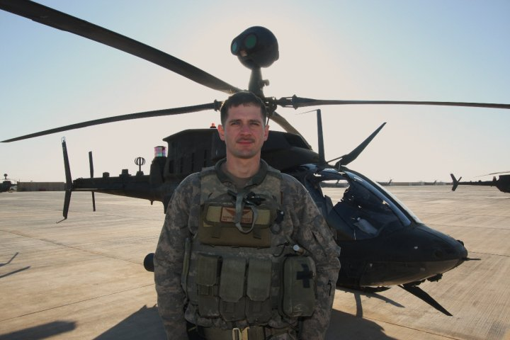 Andrew in Iraq